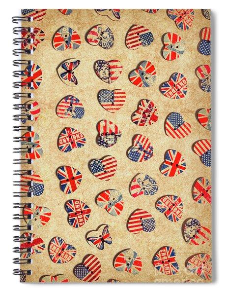 Sovereign State Sentiments Spiral Notebook