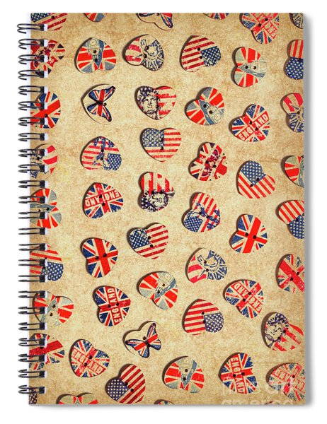Sovereign State Sentiments Spiral Notebook