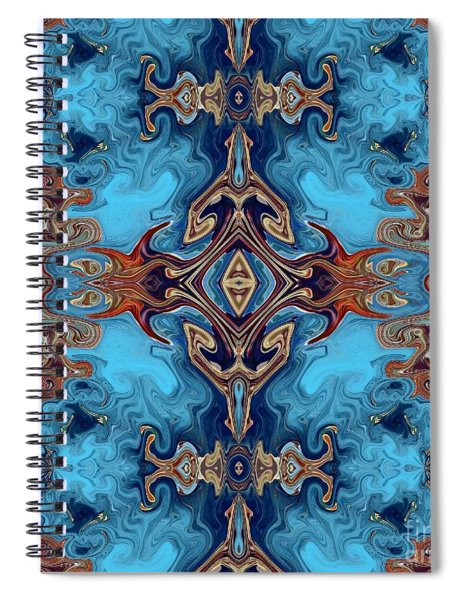 Spiral Notebook featuring the digital art Soy Un Moresco  by A zakaria Mami