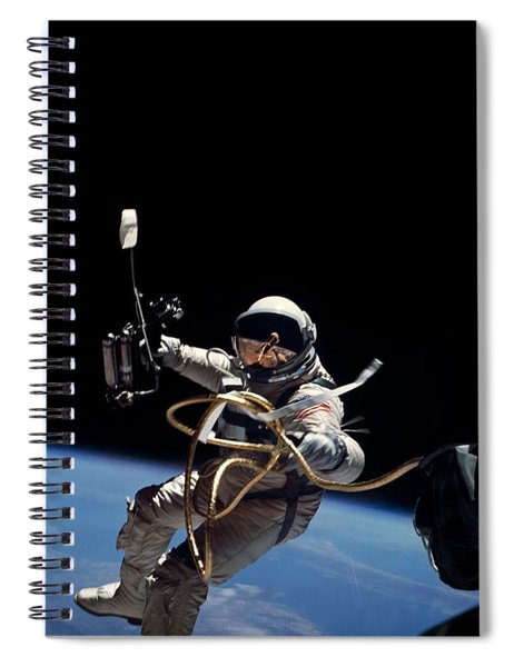 Space Walk Spiral Notebook