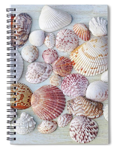 Sparkling Sea Jewels Spiral Notebook