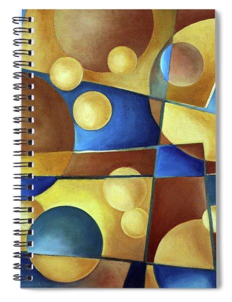 Spheres Spiral Notebook