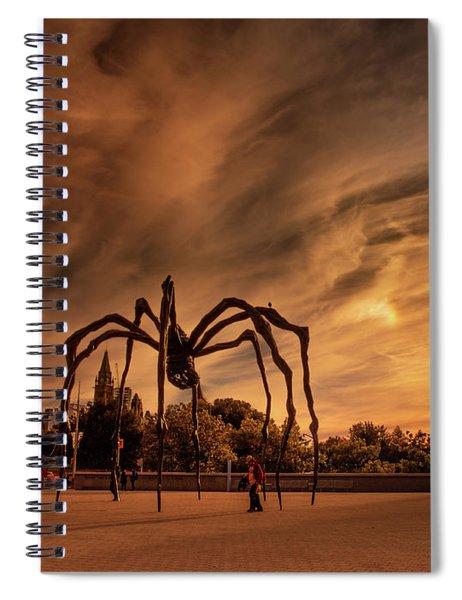 Spider Maman - Ottawa Spiral Notebook
