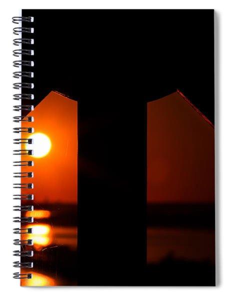 Spiderweb View Spiral Notebook