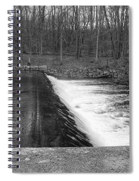 Spillway At Waterloo Village Spiral Notebook