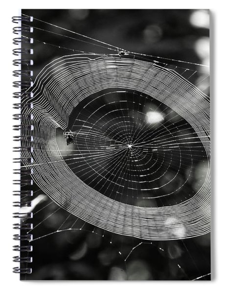 Spinning My Web Spiral Notebook