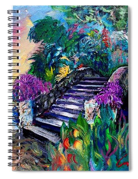 Spirit Bridge Two Spiral Notebook