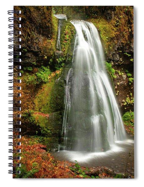 Spirit Falls Horizontal Spiral Notebook