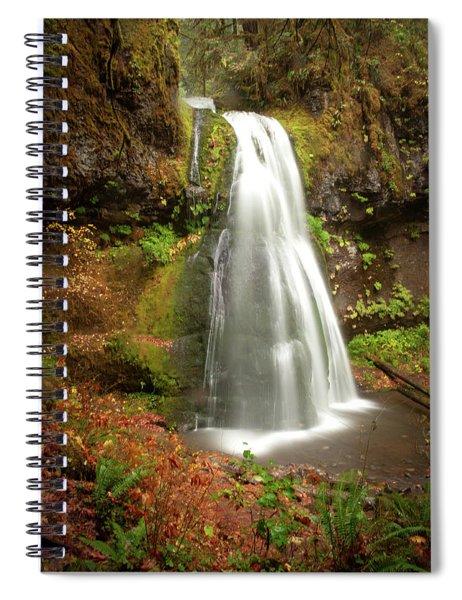 Spirit Falls Vertical Version Spiral Notebook