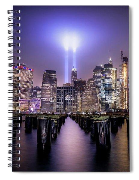 Spirit Of New York II Spiral Notebook