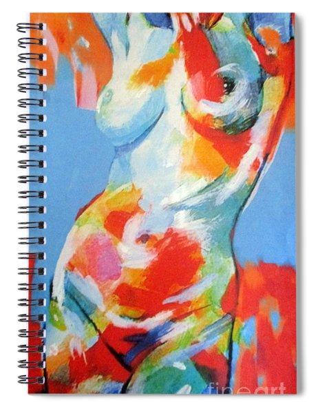 Splash Of Desire Spiral Notebook