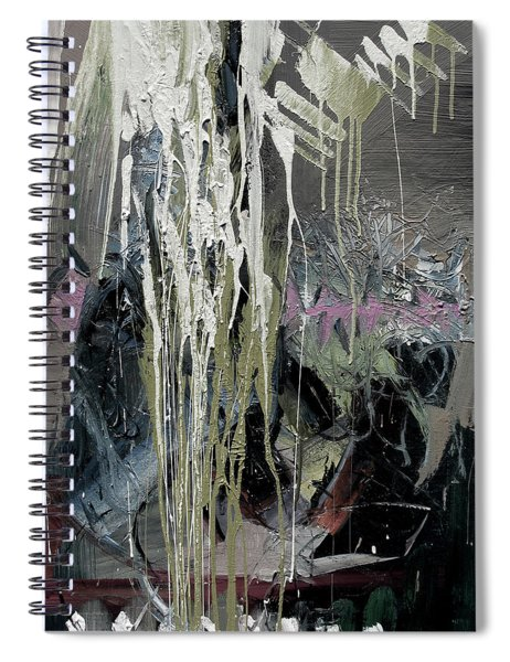 splash stripe II Spiral Notebook