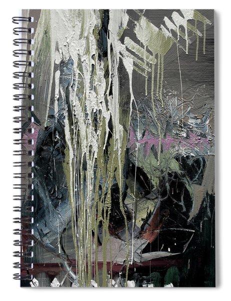 splash stripe II Spiral Notebook