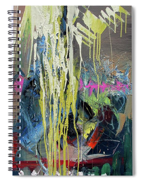 Splash Stripe Spiral Notebook