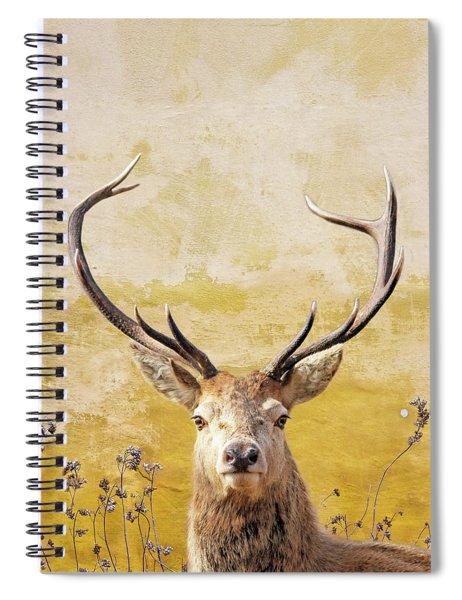 Splendor In The Flowers Spiral Notebook
