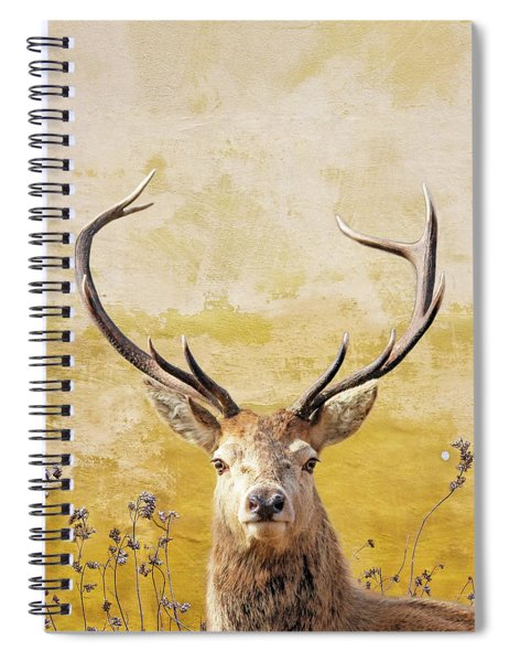 Splendor In The Flowers Spiral Notebook