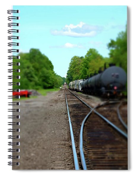 Split Rail Spiral Notebook