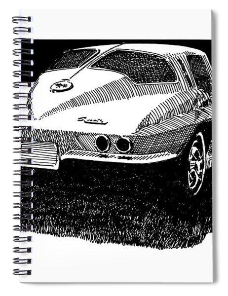 Split Window Desire Spiral Notebook