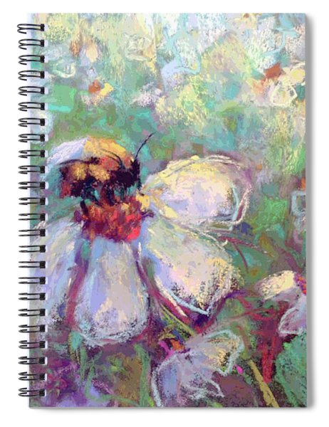 Spring Bee Spiral Notebook
