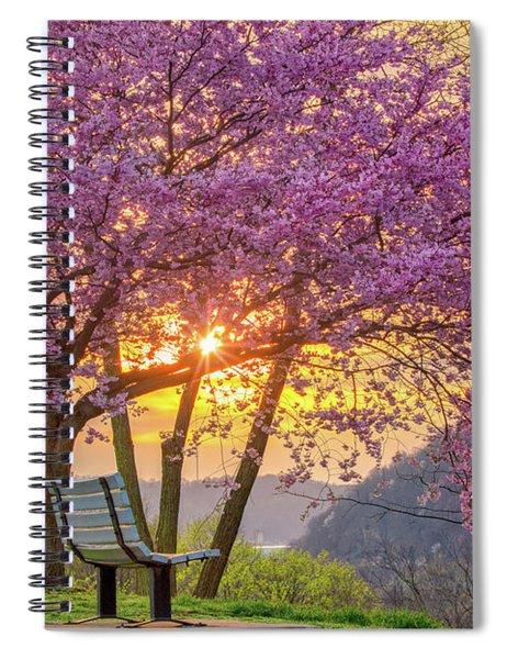 Spring Bench In Beaver 2 Spiral Notebook