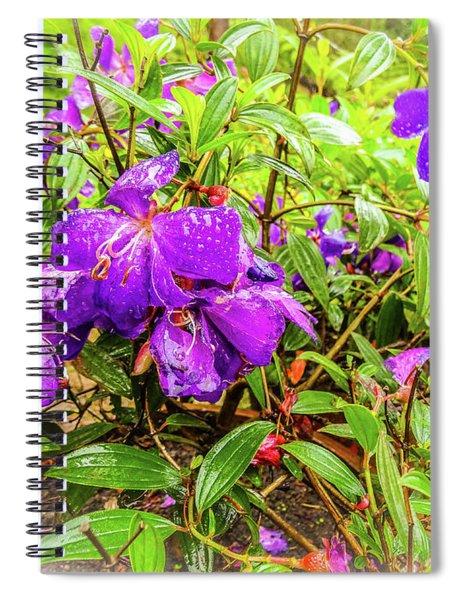 Spring Blossoms2 Spiral Notebook