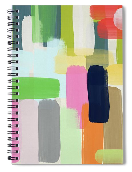 Spring Breeze- Art By Linda Woods Spiral Notebook
