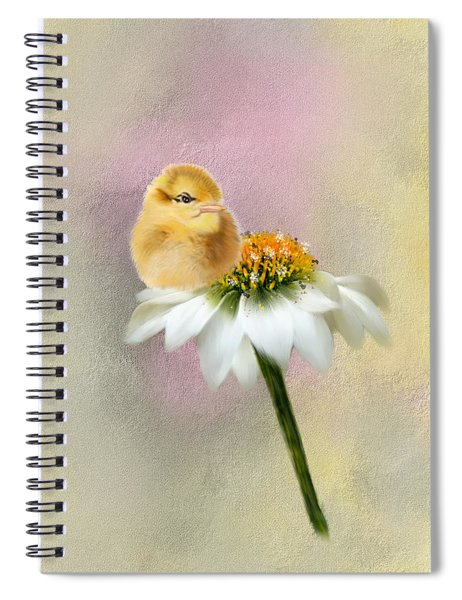 Spring Chick Spiral Notebook