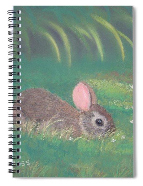 Spring Clover Spiral Notebook