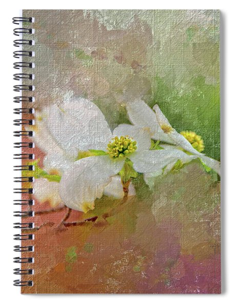 Spring Dogwood Spiral Notebook