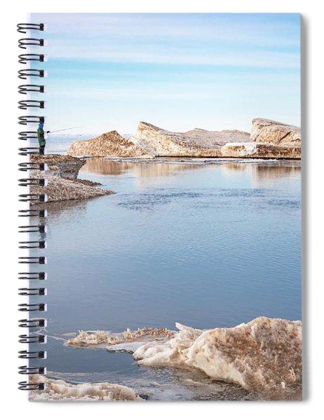 Spring Fishing Spiral Notebook
