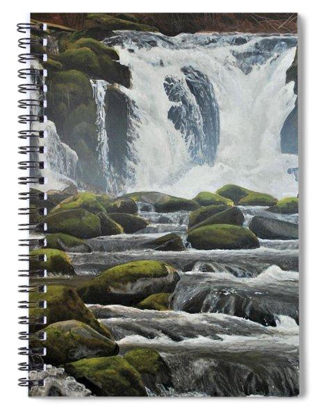 Spring Harlequins Spiral Notebook
