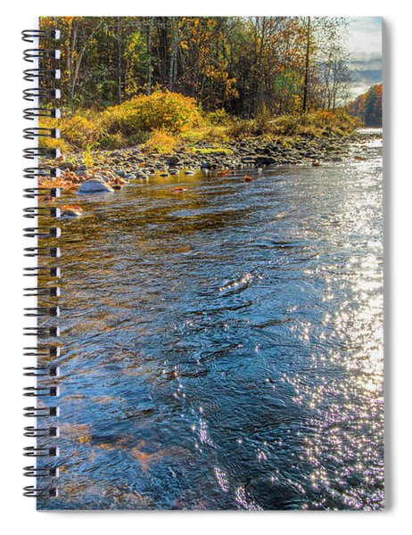 Spring Hole Spiral Notebook
