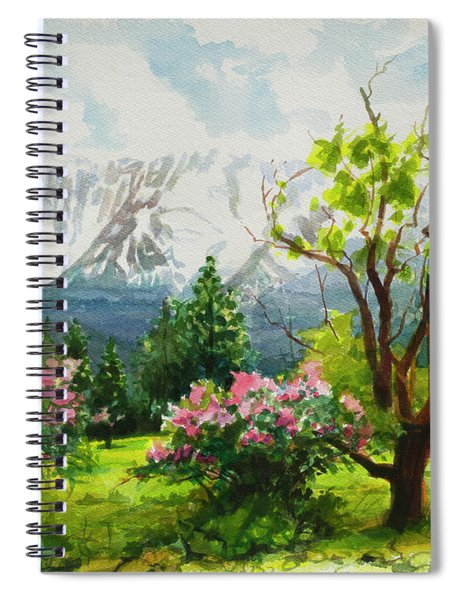 Spring In The Wallowas Spiral Notebook