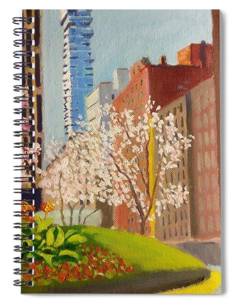 Spring In Worth St Spiral Notebook