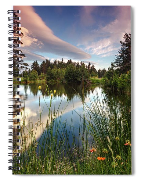 Spring Lake Spiral Notebook