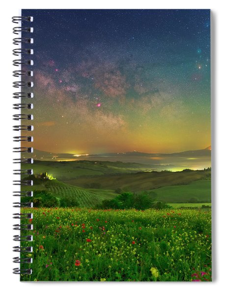 Spring Memories Spiral Notebook
