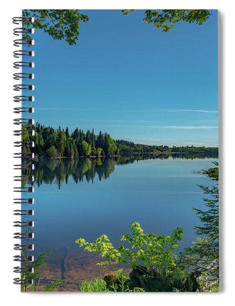 Spring Morning On Grand Sable Lake Spiral Notebook