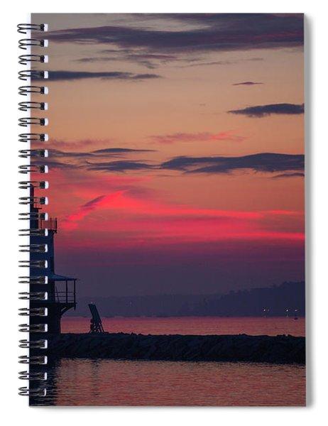 Spring Point Ledge Lighthouse Spiral Notebook