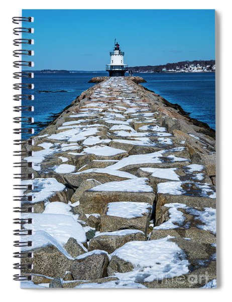 Spring Point Ledge Lighthouse II Spiral Notebook