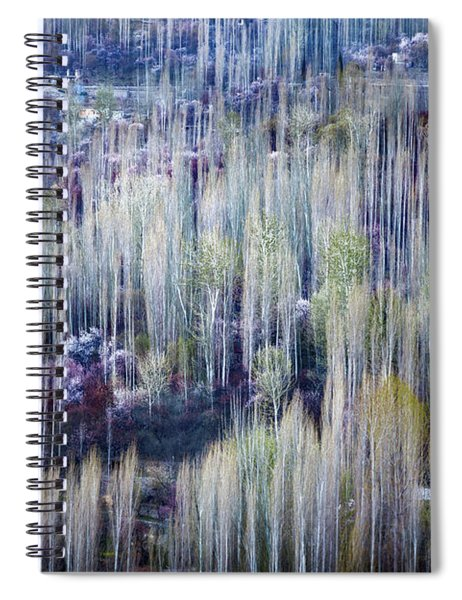 Spring Strokes Spiral Notebook