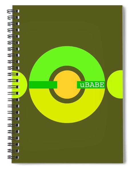Spring Sunshine Spiral Notebook