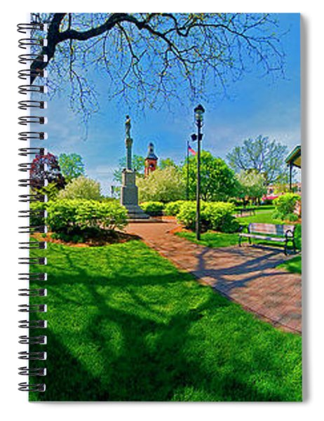 Spring Time In Wood Stock Square 360 Pan  Spiral Notebook