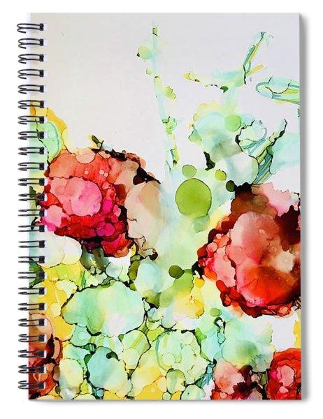 Spring To Summer Spiral Notebook