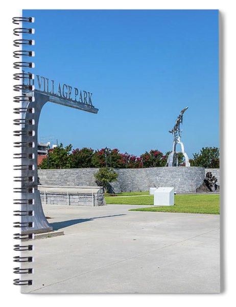 Springfield Village Park - Augusta Ga Spiral Notebook