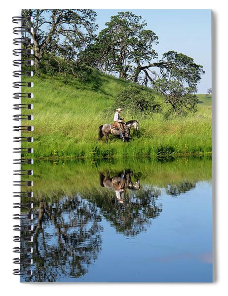 Springs Reflection Spiral Notebook