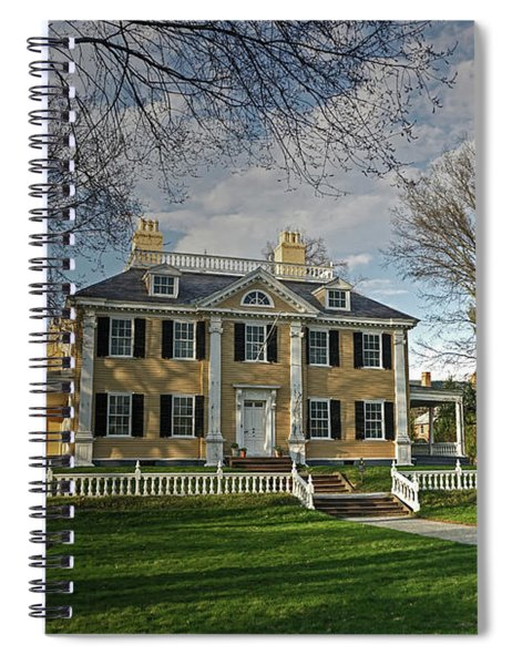 Springtime At Longfellow House Spiral Notebook