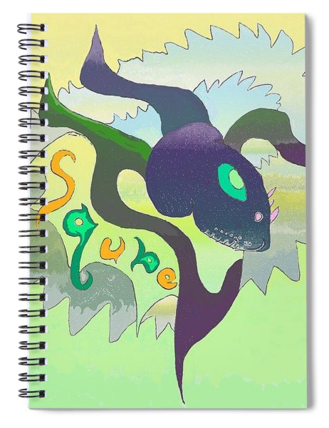 Sqube Spiral Notebook
