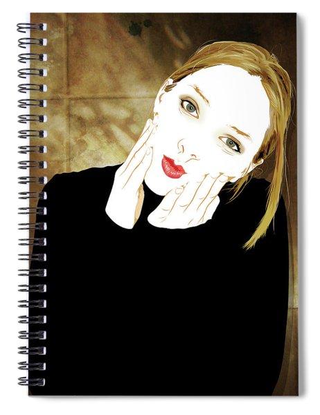 Squishyface Spiral Notebook