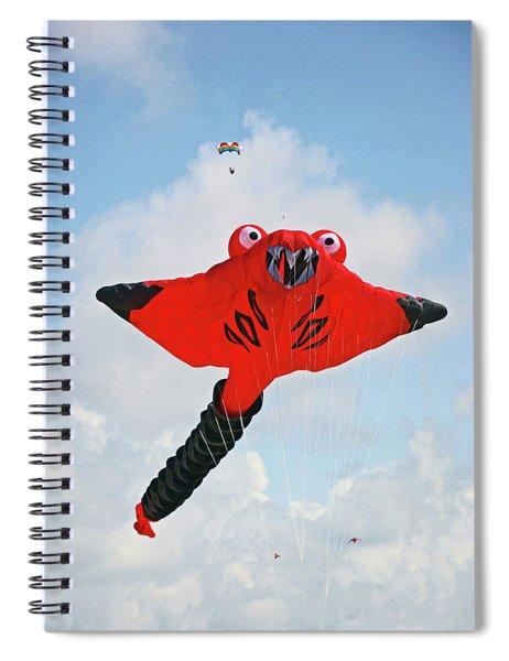 St. Annes. The Kite Festival Spiral Notebook
