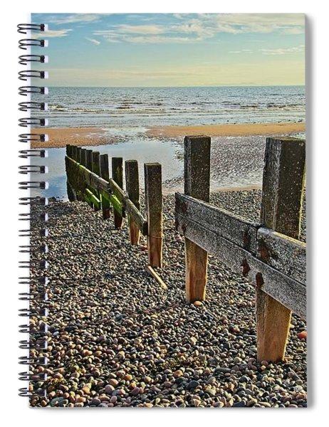 St. Bees Beach Cumbria Spiral Notebook